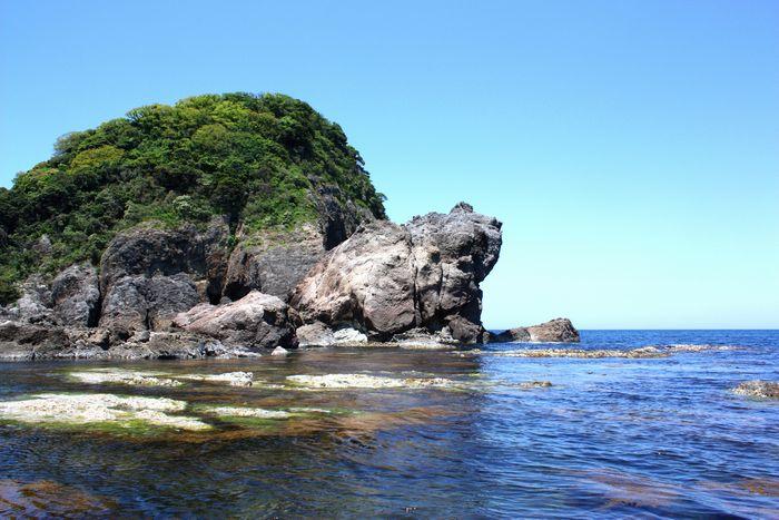 香住・今子浦のかえる島